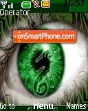 Dragon Eye Green es el tema de pantalla