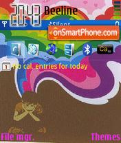 Colored Emo Boy Theme-Screenshot