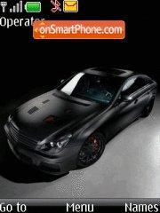 Mercedes Benz Cls theme screenshot