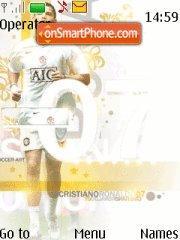 Manchester United 2007 tema screenshot