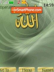 Allah theme screenshot