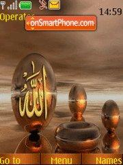 3 Allah 3 theme screenshot