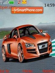 Audi R8 tema screenshot