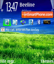 Nature v1 240x320 theme screenshot