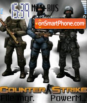 Counter Strike 1.6 theme screenshot