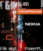 Nokia 010 theme screenshot