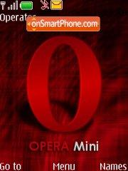 Opera Mini theme screenshot