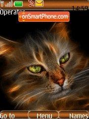 Скриншот темы Abstract Cat