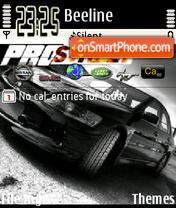 Need For Speed Black theme screenshot