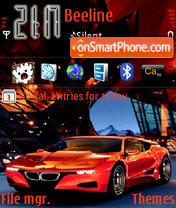 Bmw M1 Concept theme screenshot