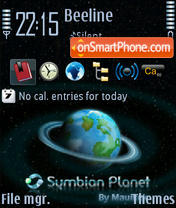 Symbianplanet Ni theme screenshot