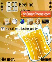 Beer 02 theme screenshot