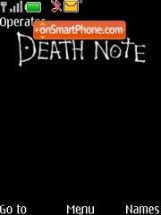 Скриншот темы Death Note