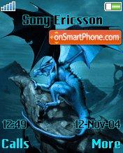 Dragon Blue es el tema de pantalla