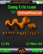 Скриншот темы Walkma Neon
