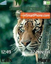 Prowlin Tiger es el tema de pantalla