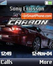 Nfs Carbon 07 theme screenshot