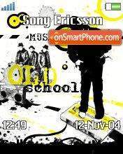 Old School Music es el tema de pantalla