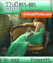 Lady In Green es el tema de pantalla