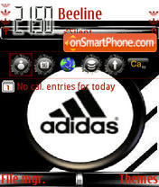 Animated Adidas 01 theme screenshot