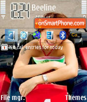 Maksim 03 theme screenshot