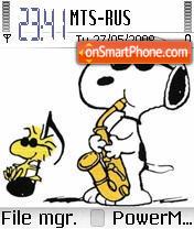 Snoopy 02 theme screenshot
