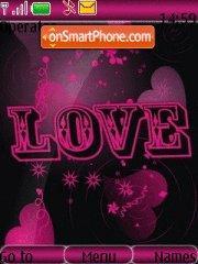 Скриншот темы Pink Love