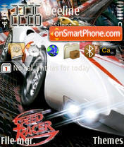 Speed Racer 01 es el tema de pantalla