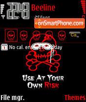 Risky es el tema de pantalla