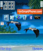 Birds Animated es el tema de pantalla