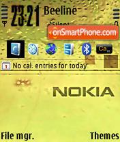Скриншот темы Nokiayellow