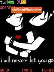 Never Let You Go 01 tema screenshot