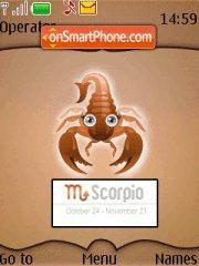 Scorpio 02 tema screenshot