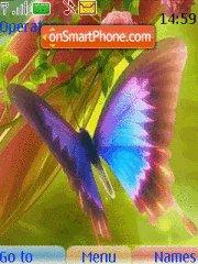 Butterfly 131 tema screenshot