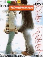 Скриншот темы Romance Love 01