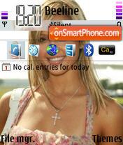 Jessica Alba 11 theme screenshot