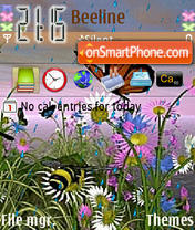 Butterfly Animated 01 theme screenshot