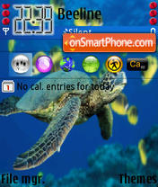 Sea Turtle Bjie theme screenshot