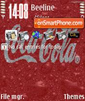 Скриншот темы Coke Animated