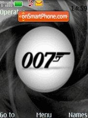 James Bond 007 theme screenshot