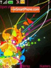 Colorful tema screenshot