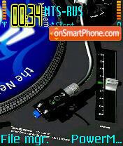 DJ Plastina tema screenshot