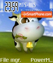 Cow 5 theme screenshot