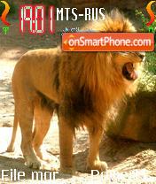Lion 10 es el tema de pantalla