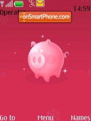 Pink Piggy es el tema de pantalla