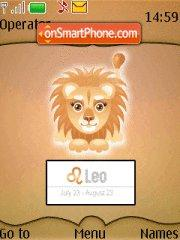 Leo 01 tema screenshot