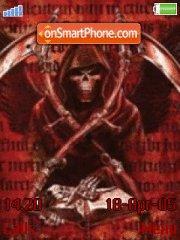 Death Keeper theme screenshot