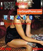 Скриншот темы Gwen Stefani 01