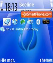 Deep Blue theme screenshot