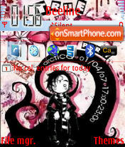 Just Emo theme screenshot
